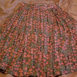 4/$25 LuLaRoe floral Madison skirt w/ Pockets S